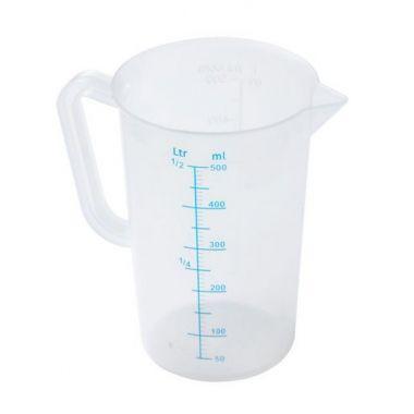 Мерный стакан, пластик 0,5 л Sunnex 518602