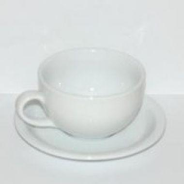 Чашка с блюдцем 250 мл серия Lubiana Amerika 0104/0116