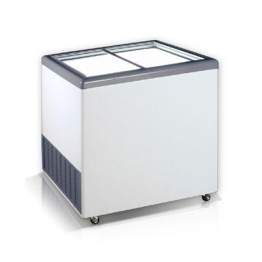 Ларь морозильный прямое стекло Crystal EKTOR 26 SGL