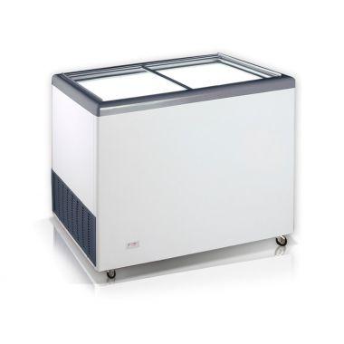 Ларь морозильный прямое стекло Crystal EKTOR 36 SGL