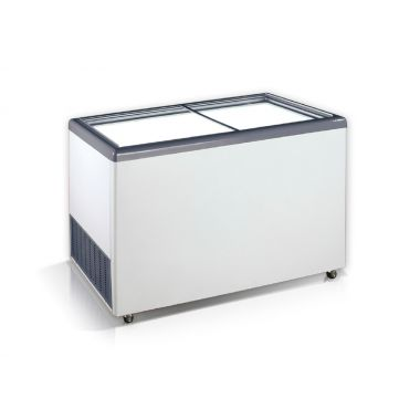 Ларь морозильный прямое стекло Crystal EKTOR 46 SGL