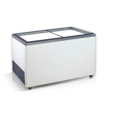 Ларь морозильный прямое стекло Crystal EKTOR 56 SGL