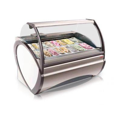 Витрина кондитерская-мороженое Oscartielle Dorado