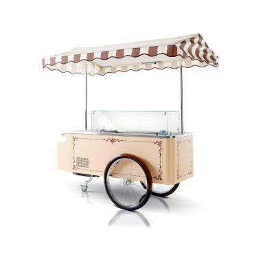 Витрина для мороженого ISA Il Carrettino Dei Gelati