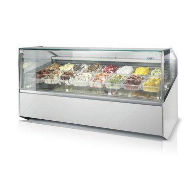 Витрина для мороженого ISA Super GelatoShow