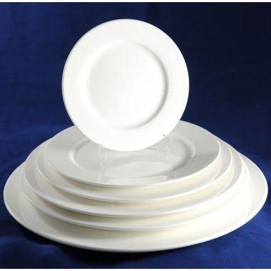 Тарелка мелкая с бортом 18 см Altezoro S0003