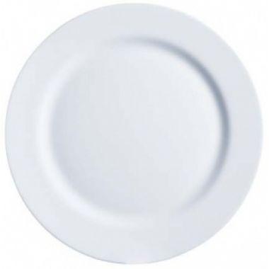 Тарелка круглая с бортом 25,5 см FoREST серия Aspen 710073
