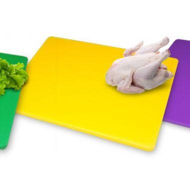 Доска разделочная жёлтая (40x30x2 см) FoREST 413420