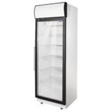Морозильный шкаф 1 стеклянная дверь Tecnodom AF06EKOBTPV