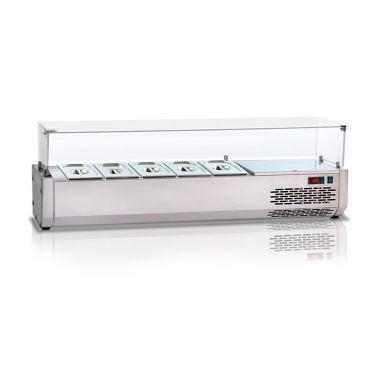 Охлаждаемая витрина плоское стекло Tecnodom VR 4180 VD