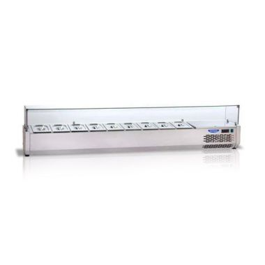Охлаждаемая витрина плоское стекло Tecnodom VR 4215 VD