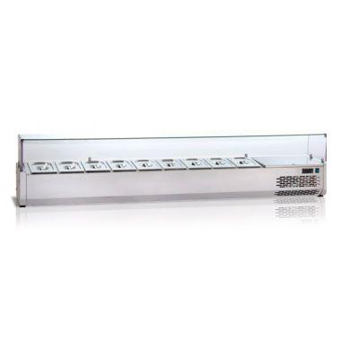 Охлаждаемая витрина плоское стекло Tecnodom VR 4270 VD