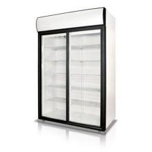 Морозильный шкаф 2 стеклянные двери Tecnodom AF 12 EKO BT PV
