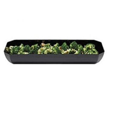 Восьмиугольное блюдо (чёрный-110) Cambro (США) SFG 820