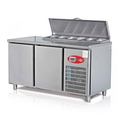 Стол холодильный саладет Altezoro EMP.150.70.01-PS