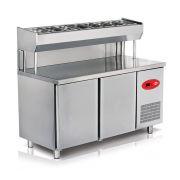 Стол холодильный с надстройкой Altezoro EMP.150.80.01-PSY