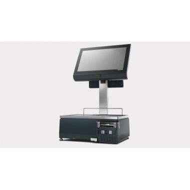 Весы с печатью этикетки BIZERBA XC II PRO 800+7 экран покупателя