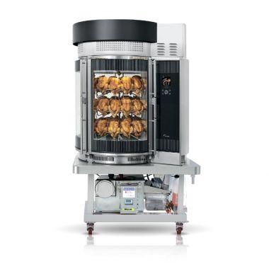 Гриль для кур FRI-JADO Multisserie with grease collector and condenser