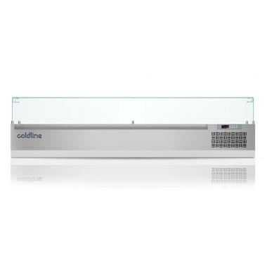 Охлаждаемая витрина Coldline VP20/9N GN1/4