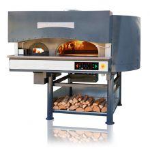 Ротационная печь для пиццы комбинированная (дрова+электричество) MORELLO FORNI MRE 110