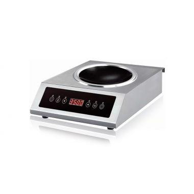 Плита индукционная WOK EWT INOX AMCD506W