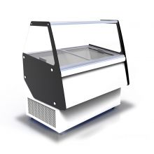 Витрина для мягкого мороженого Crystal ATHENA 9