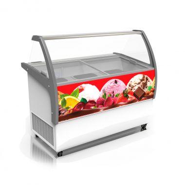 Витрина для мягкого мороженого Crystal VENUS ELEGANTE 46