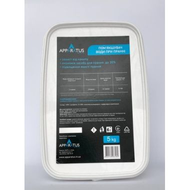 Средство для смягчения воды APPARATUS, 5кг