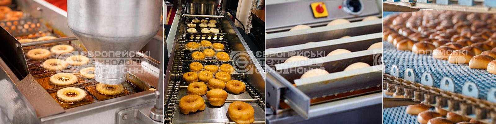 Аппараты для приготовления пончиков