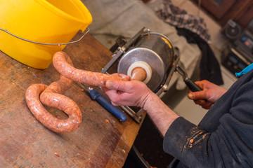 Шприцы для наполнения колбасных оболочек